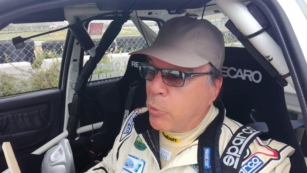Οι δηλώσεις του Μάριου Σταφυλοπάτη μετά τη νίκη του στον αγώνα των Ιστορικών, με το Ford Sierra RS Cosworth: