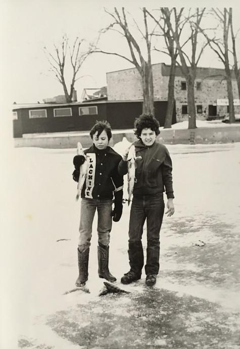 Pêche sur glace Archives Musée de Lachine [P27-C]