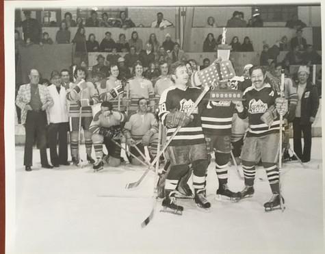 Club de hockey Lachine Rapide © J.W. Harry Hayden Archives Musée de Lachine [P31-A]