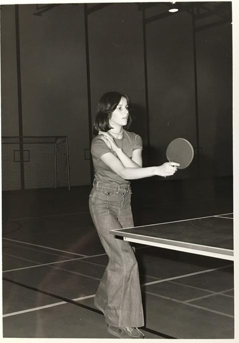 Partie de ping-pong Archives Musée de Lachine [P27-D]