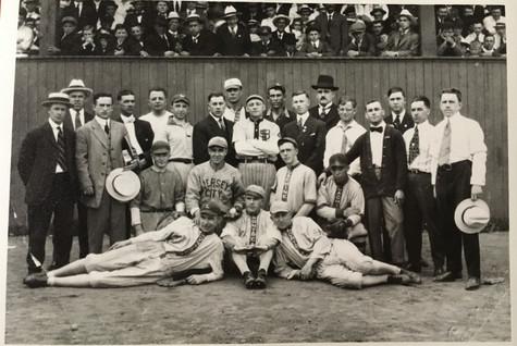 Club de baseball de Lachine Première moitié 20e siècle Archives Musée de Lachine [P31-A]
