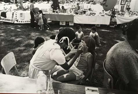 Activités lors des Fêtes de Lachine 1985 Archives Musée de Lachine [P24-C]