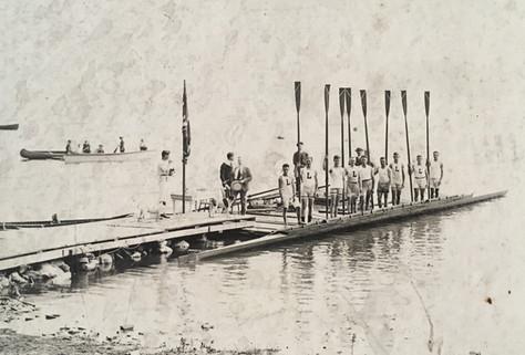 Club d'aviron Début 20e siècle  Archives Musée de Lachine [R6-A-1,4]