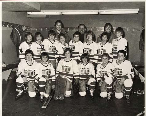 Club de hockey Lachine  Archives Musée de Lachine [P31-A-16]