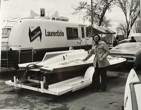 Exposition de bateaux  vers 1975  Archives Musée de Lachine [P22]
