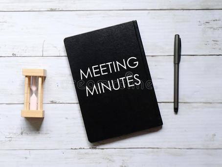 Vic / Tas Meeting Minutes & Presentations