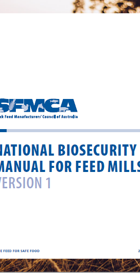 National Biosecurity Manual for Feed Mills