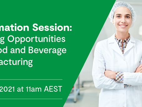 Funding Opportunities for Food and Beverage Manufacturing