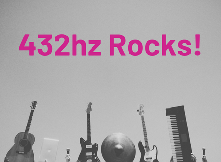 Why I play in 432hz