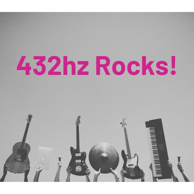 432hz rocks with instruments