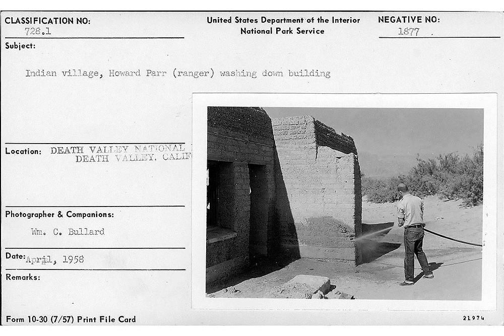 William C. Bullard, Neg. No. 1877/Death Valley National Park Archives.