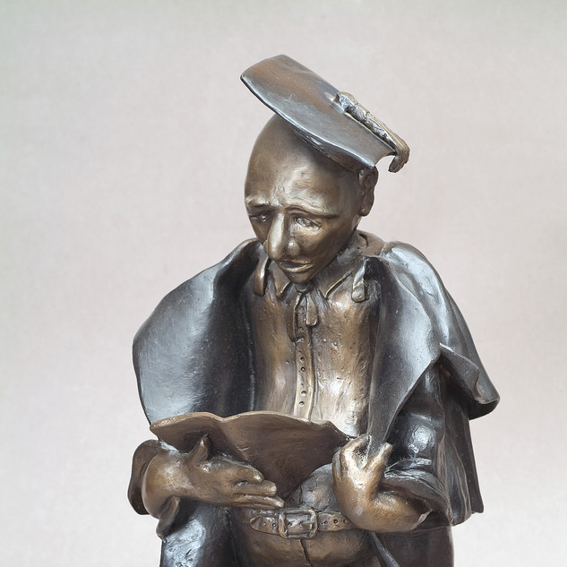 The Learned Lawyer - Bronze