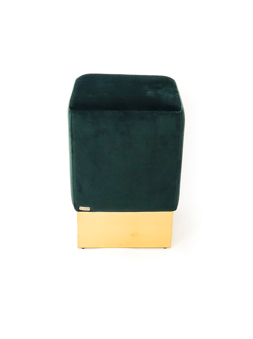 Stella Stool Green Velvet