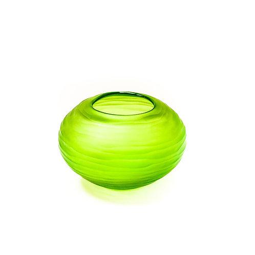 Carved Vase Light Green