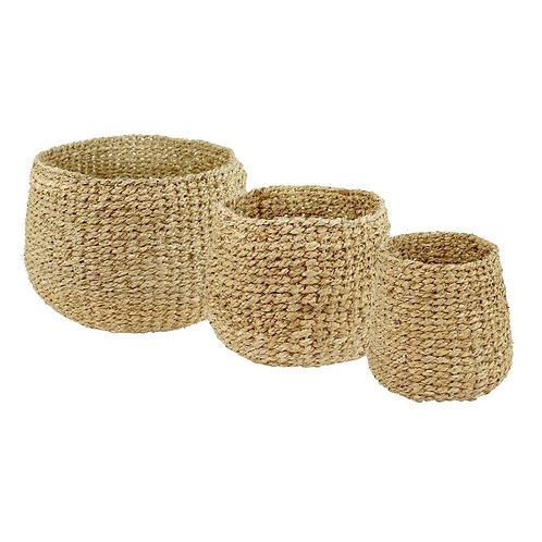 Baskets Seagrass Nora