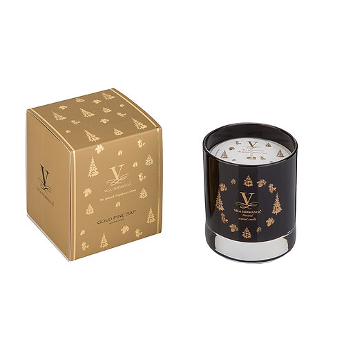 Gold Pine Sap Candle