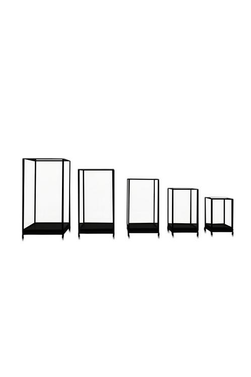 Square Glass Showcase
