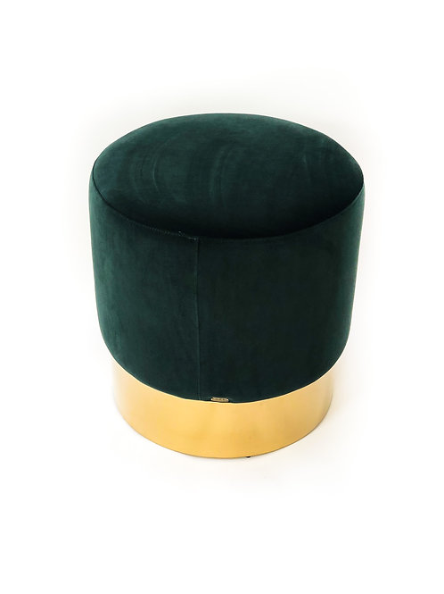 Ella Stool Green Velvet