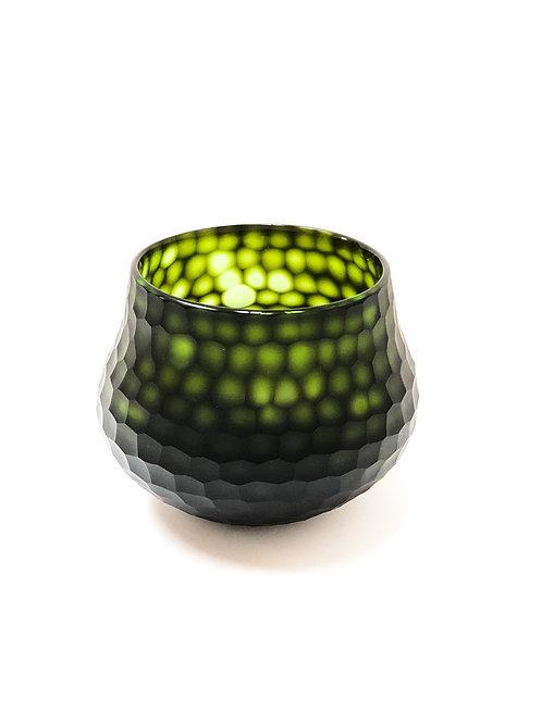 Organic Carved Bowl Vase