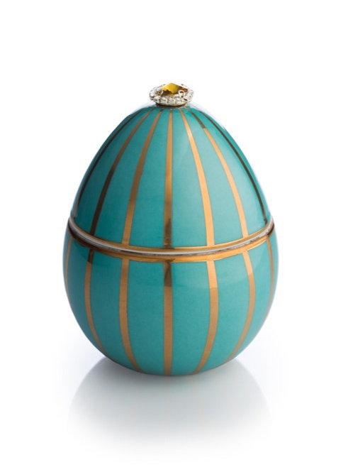 Fabergé Turquoise Golden Stripe