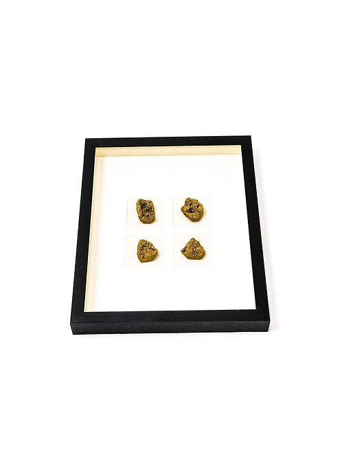 Golden Geode Frame