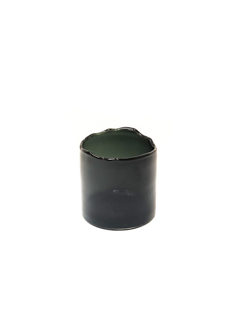 Vase Organic Rim - Smoke