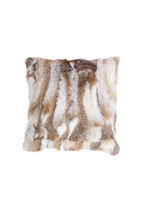 Cushion Rabbit Fur