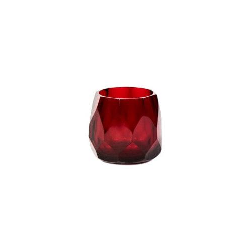 T-Light Holder Shiny Red