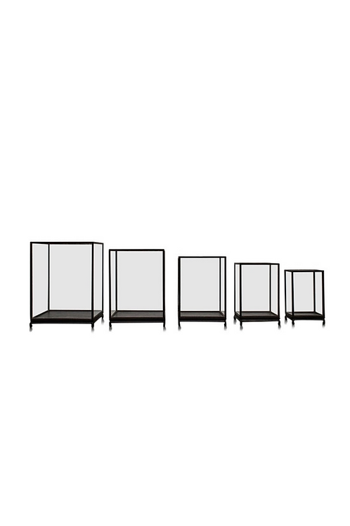 Rectangular Glass Showcase