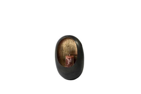 Wall T-light Holder Egg Zinc