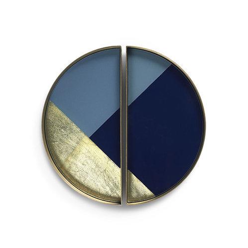 Notre Monde Half-Moon Geometric dienblad
