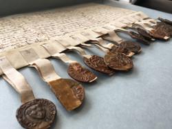 Photographie d'anciens documents