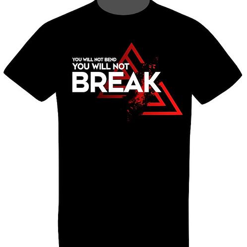 "TRANK T-shirt Men ""Bend or Break"" Black"