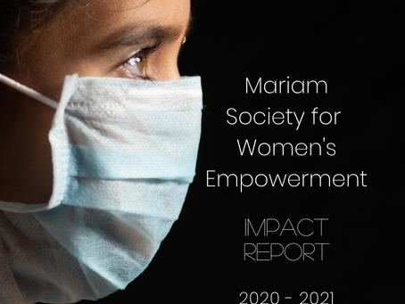 Mariam Society Impact Report