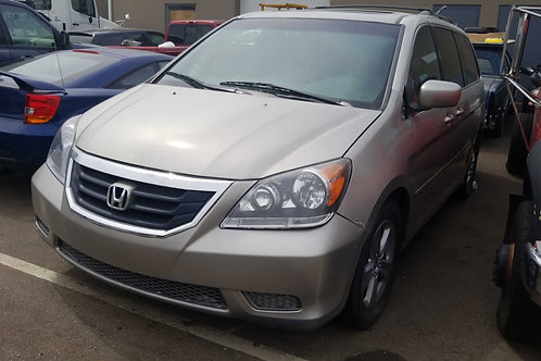 2008 Honda Odyssey has a 09 engine,tranny and suspension 140k