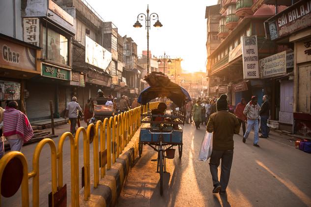 Street scenes from Varanasi, India.