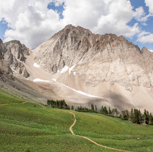 THE MYSTERY OF THE WHITE CLOUDS LOOP TRAIL