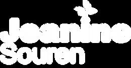 White logo jeanine souren.png