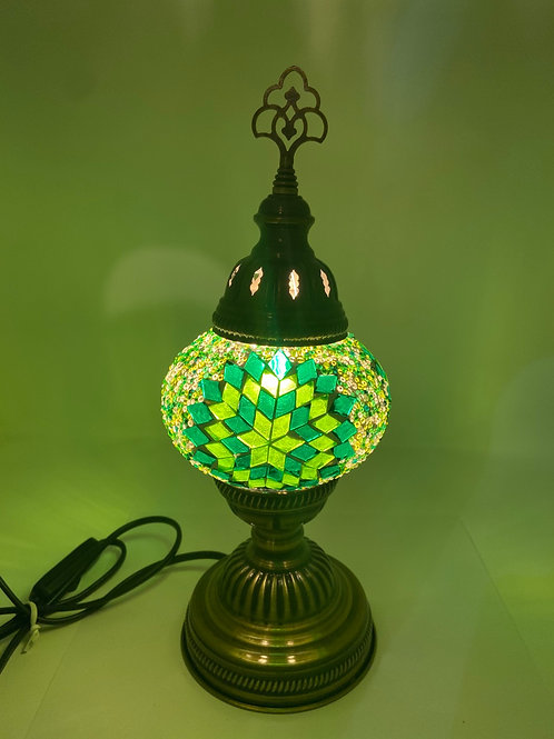 "MINI MOSAIC TABLE LAMP (13.7"")"