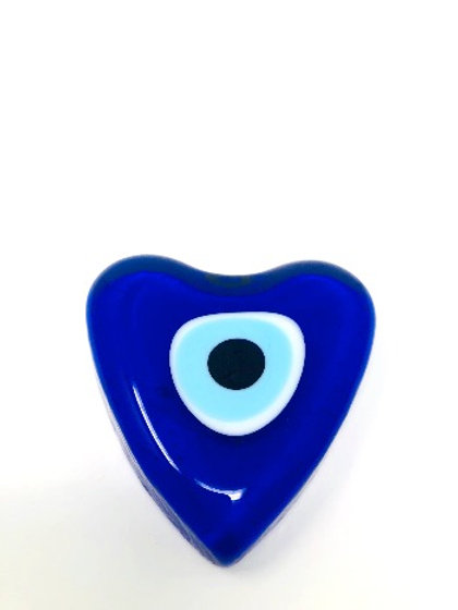 ALL SEEING EYE GLASS HEART