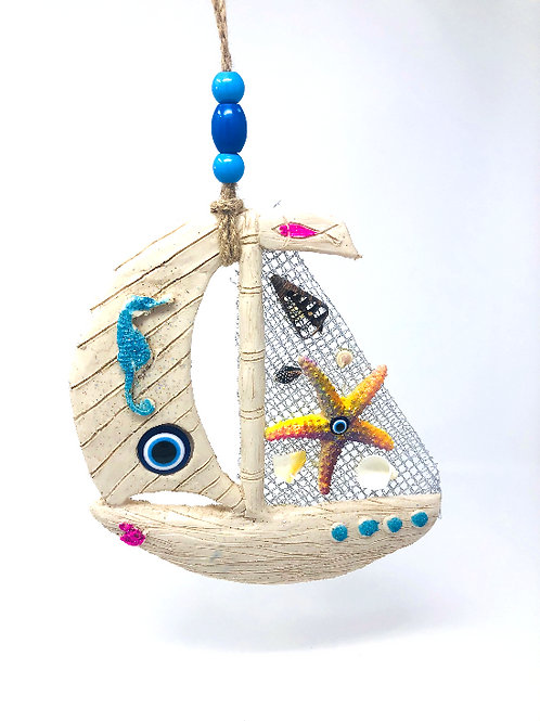 ALL SEEING EYE SAIL BOAT