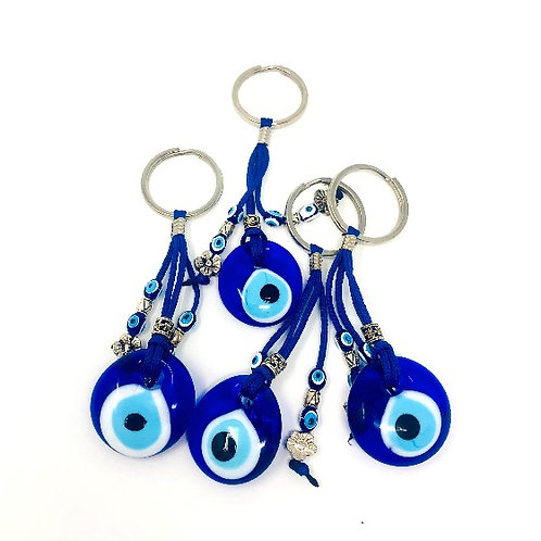ALL SEEING EYE KEYCHAIN (BLUE)