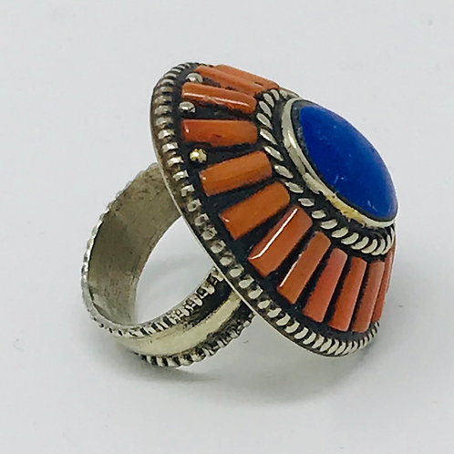 RING ANTIQUE CENTRAL ASIAN