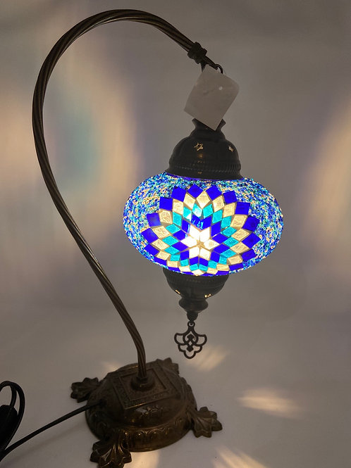 Mosaic Table Lamps 17""