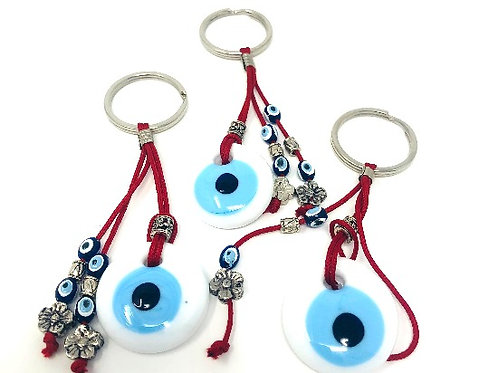 ALL SEEING EYE KEYCHAIN (RED)