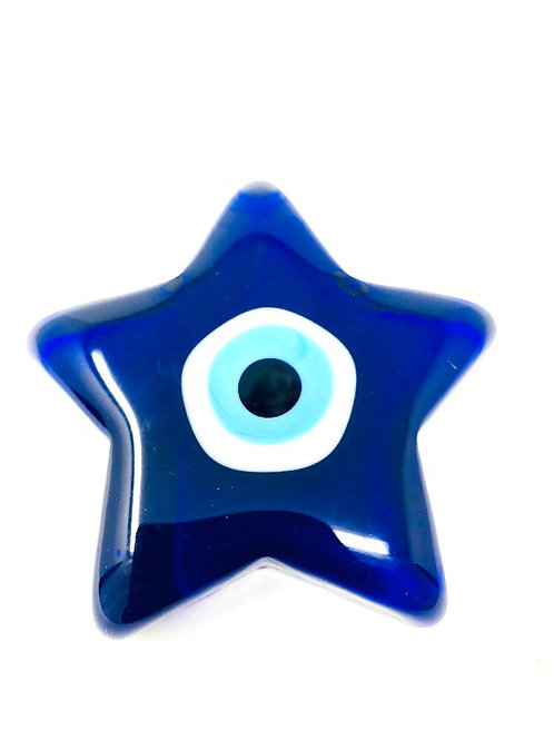 ALL SEEING EYE GLASS STAR