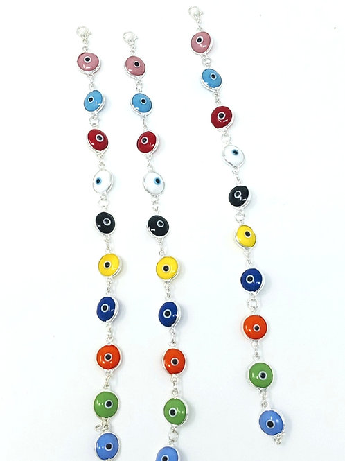 MULTI COLORED GOOD LUCK BRACELET