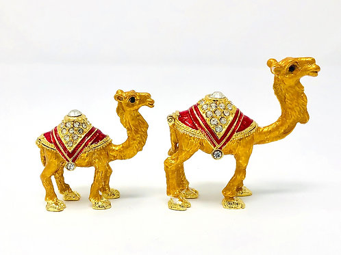 SET OF TWO CAMELS