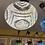 Thumbnail: GORGEOUS WHITE MOSAIC PENDANT LIGHT