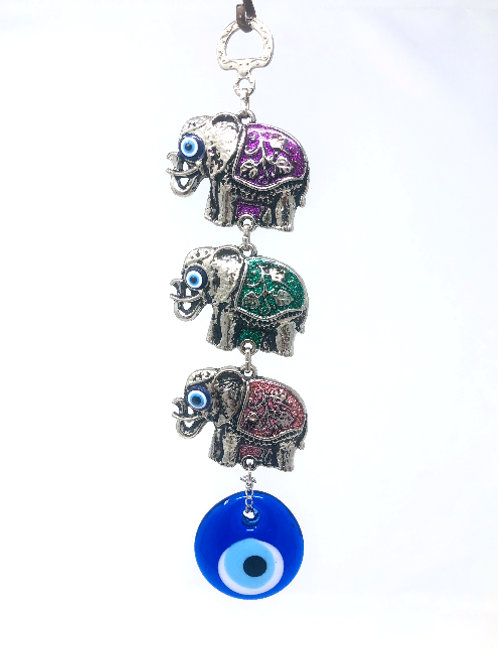 ELEPHANT WALL HANGING WITH EYE